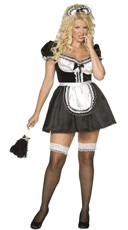 Plus Size Envy French Maid Costume