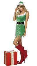 Sexy Little Helper Elf Costume