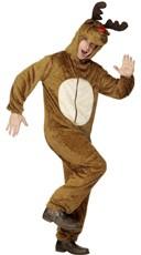 Men's Furry Reindeer Costume