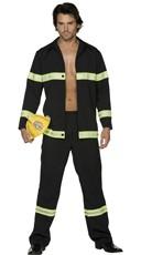 Men's Hot In Here Fireman Costume