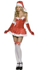 Naughty Miss Santa Costume