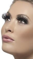 Extra Long Black Eyelashes