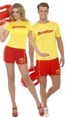 Baywatch Hotties Couples Costume