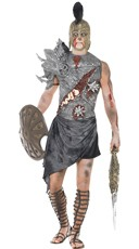 Men's Zombie Roman Warrior Costume