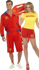 Baywatch Couples Costume