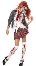 Living Dead Zombie Schoolgirl Costume