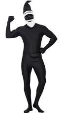 Men's Second Skin Bah Humbug Costume