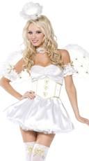 Golden Heart Angel Costume
