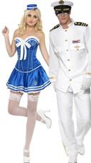 Aye Aye Captain Couples Costume