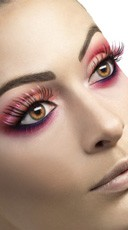 Fever Mixed Pink And Black Eyelashes