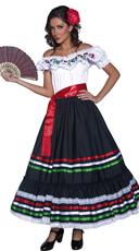 Western Sexy Senorita Costume