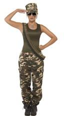 Camouflage Cutie Costume