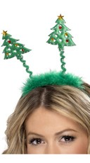 Christmas Tree Headband Bopper