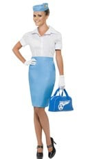 Pan American Flight Attendant Costume