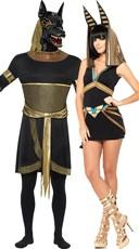 Egyptian Gods Couples Costume