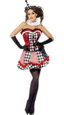 Naughty Circus Jester Costume