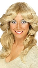 Sexy 70's Blonde Wig