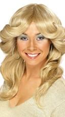 Sexy 70's Blonde Wig