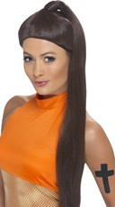 Sporty Pop Ponytail Wig