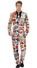 Kaboom! Comic Suit Costume