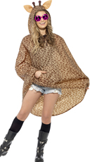 Giraffe Party Poncho Costume