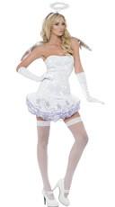 Sequin Angel Tutu Costume