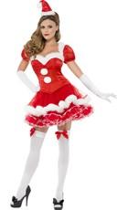 Santa Baby Corset Costume