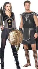 Medieval Warriors Couples Costume