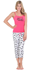 Dog Gone Cute Cami and Capri Set