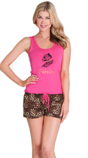 Fierce and Fabulous Tank and Short Set