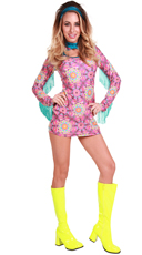 Summer Of Love Hippie Costume