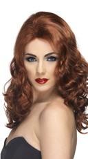 Glamour Auburn Wig