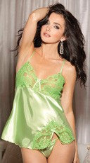 Charmeuse Lace Babydoll