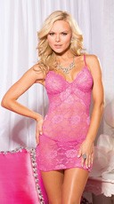 Lacy Stretch Chemise