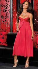 Long Chiffon Lingerie Gown