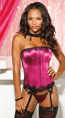 Sexy In Satin Corset