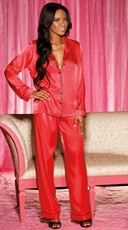 Silky Soft Charmeuse Pajama Set