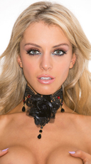 Rose Lace Choker