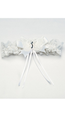 Butterfly Venice Leg Feather Garter