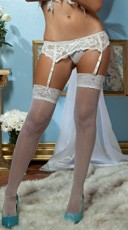 Lace Affair Garter Belt