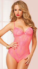 Pink Flirty Teddy