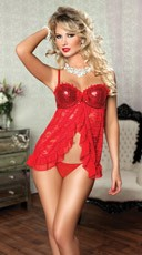 Sequin Fly Away Babydoll