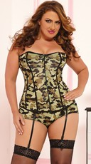 Plus Size Commander In Chic Corset
