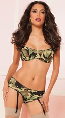 Commander In Chic Bra Set