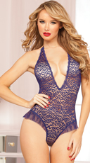 Sultry Delight Leopard Print Teddy