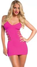 Seamless Strappy Side Chemise