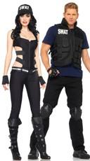 SWAT Couples Costume