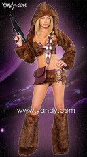 Sci-Fi Furry Costume