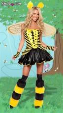 Sexy Buzzing Bee Costume