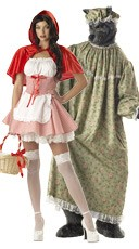 Red Riding Hood Couples Costume